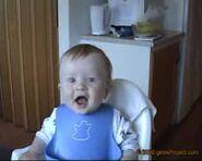 Hahaha laughing baby