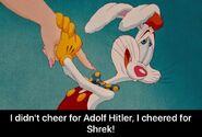 Shrek vs Adolf Hitler and Roger Rabbit