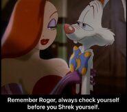 Shrek meme Roger Rabbit