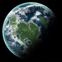 Super-Earth large