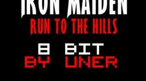 Iron Maiden - Run to the hills 8-bit