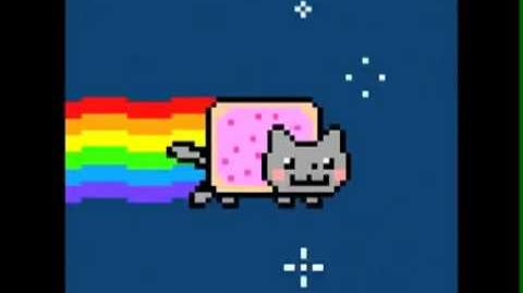 Nyan Cat (pop tart) - Insane Edition