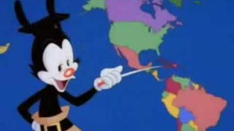 Youtube Poop Yakko fails his geography test