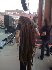 The Man Has Epic Dreads
