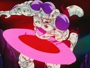 Frieza, Sliced By his own Attack