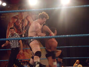 Sheamus with an armbar on Eric Escobar