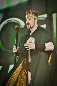 King Sheamus 2010 Tribute to the Troops