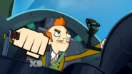 Mort's a pretty good pilot