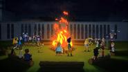 Randy Cunningham, 9th Grade Ninja - Evil Spirit Week - Spirit Bonfire 01