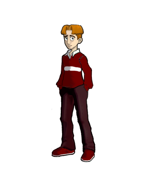FusionFall Randy Cunningham 9th Grade Ninja Nameless Boy with a Red Shirt