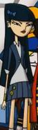 Nameless Girl with Long Black Hair