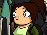 Nameless Girl with Green Shirt