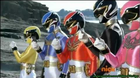 Power Rangers Megaforce - He Blasted Me With Science - Enter Megazords