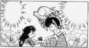 Ryoga y Akari Manga