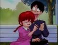 Ranma flirts with Gosunkugi - Gosunkugi's Paper Dolls.png