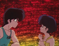 Ranma and Akane stare - Kiss of Love.png