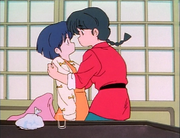 Ranma holds Akane - Sneeze Me Squeeze Me Please Me