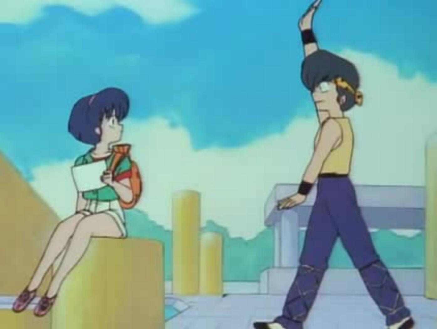 Ryoga Meets Up With Akane