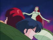 Ranma and Akane trapped - Witch Who Loved Me