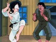 Soun scares Ranma - I Am a Man