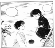 Akane thanks Ranma
