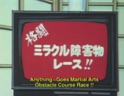Obstacle race advert - episode 62