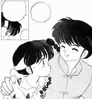 Akane shocked - Scramble