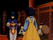Kirin talks to Akane