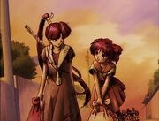 Natsume & Kurumi leave