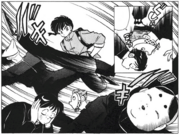 Ranma defeats thugs