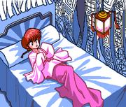 Toraware - Ranma in Sanpakute's lair