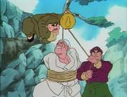 Genma curse training with Kinnii