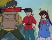 Ranma and Ukyo meet Ryoga