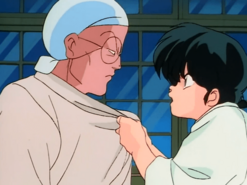Ranma and Genma talk - I Am a Man!