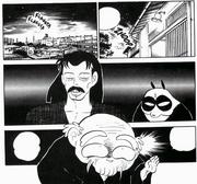 Happosai returns to the Dojo