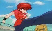 Ranma Saotome 学校は戦場だ!対決 乱馬VS良牙 School is a Battlefield! Ranma vs. Ryoga
