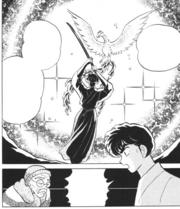 Kuno learns of Phoenix Sword