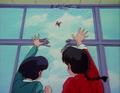 Gosunkugi sent flying - Gosunkugi's Paper Dolls.png