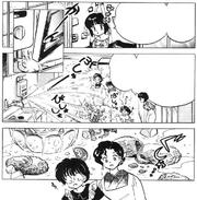 Nabiki's late warning - Violence of Cooking