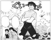 Nabiki boosts Ranma's ego