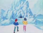 Ranma & Akane at Nu's lair