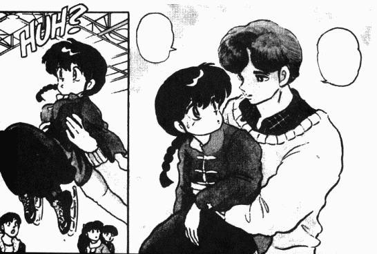 Ranma Png: Image - Mikado Catches Ranma.png