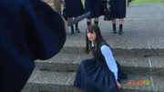 Akane overpowered by Kuno - live-action