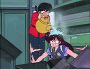 Ranma checks Ukyo for curse