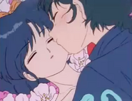 Ranma struggles - Taking of Akane's Lips