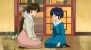 Kasumi wakes Akane