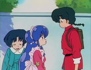 Shampoo wonders about Ranma's appearance
