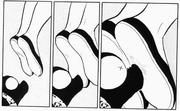 Ryoga's memories of Akane-Shampoo fight