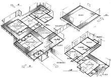 Planimetria casa Tendo