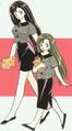 Hinako hinomiya child and adult form.png